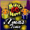 Monkey GO Happy Xmas Time game