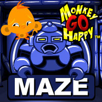 Monkey Go Happy Maze game