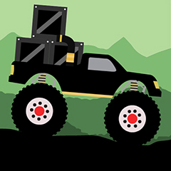 Monster Truck: Forest Deliver game