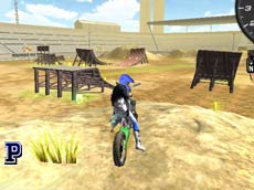 Motorbike Freestyle game