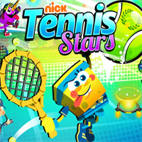 Nick Tennis Stars game