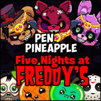 Pen Pineapple Freddy's Night