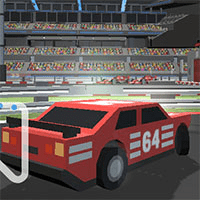 Pixel Racing 3D game