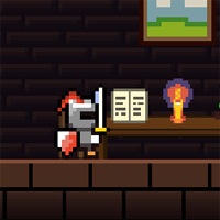 Pixel Shon Adventure game