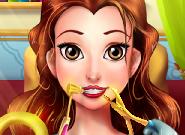 Perfect Dentist Princess Belle game