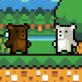 Pixel Bear Adventure game