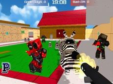 Pixel Toonfare 3D game
