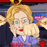 Punch Hillary game