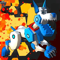 Robot Dog City Simulator game