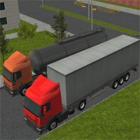 Jogo Semi Driver 3D: Trailer Parking Online Gratis