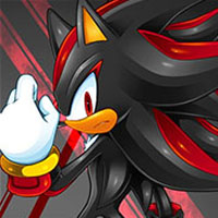 Shadow in Sonic game
