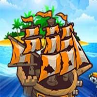 Ships vs Monsters game