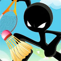 Stick Figure Badminton 3 game