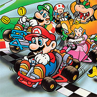 Super Mario Kart F1 Tracks game
