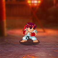 Super Pocket Fighter Adventure game