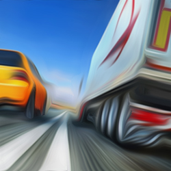 Sports Traffic Racer game