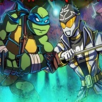 Ninja Turtles vs Power Rangers game