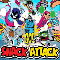 Teen Titans: Snack Attack game
