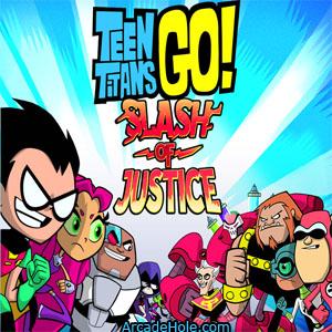 Teen Titans: Slash of Justice game