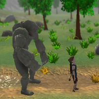 The Boy and The Golem game