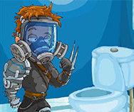 Toilet War game