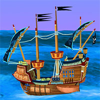Top Shootout: The Pirate Ship game
