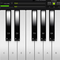 Virtual Piano game