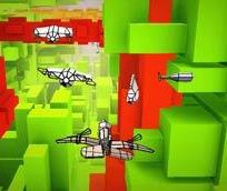 Voxel Fly game