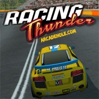 Y8 games arcadehole racing thunder game reheart Choice Image