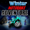 Winter Motorbike Adventure game