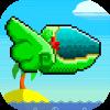 Pixel Retro Ship game