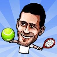 Puppet Tennis game