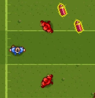 Rugby Down Hero game
