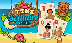Tiki Solitaire game