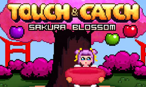 Touch and Catch Sakura Blossom game