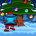 Touch and Catch Santa game