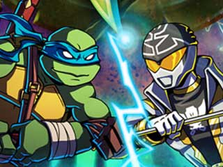 TMNT Vs Power Rangers 2 game