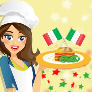 Vegetable Lasagna – Cooking with Emma game